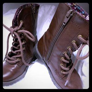 Cat & Jack Lace Up Boots